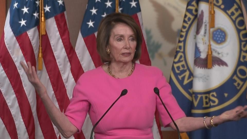 Pelosi wishes for Trump family, staff 'intervention'