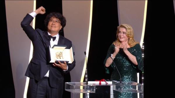 South Korean director Bong Joon-Ho wins Palme d'Or