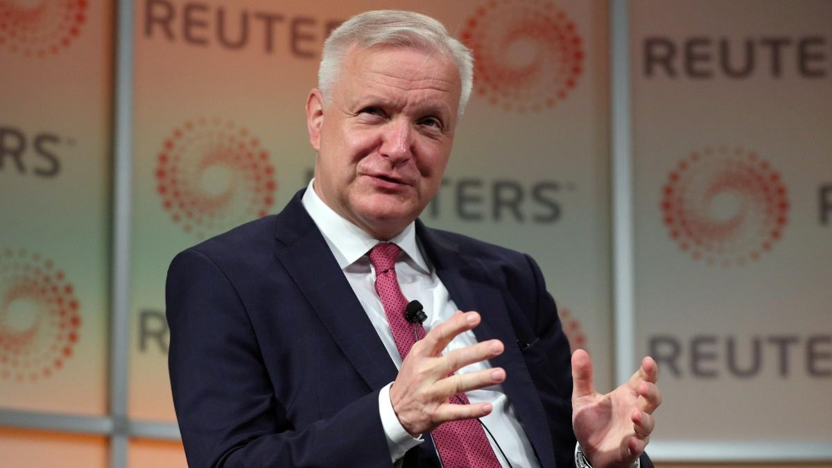 Olli Rehn Reuters Newsmaker: trade war could affect future ECB policy