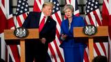 Trump's UK tour wades into Brexit fallout
