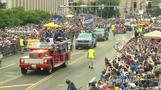 St Louis celebrates Blues' Stanley Cup victory