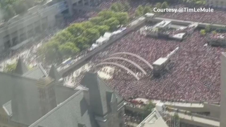 Gunshots at Raptors parade send crowds running: police