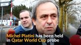 Ex-UEFA head Platini detained in Qatar World Cup probe