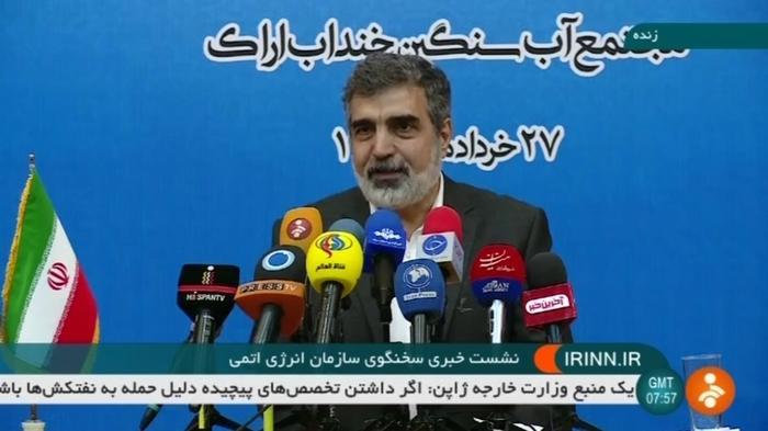 イランが核合意違反を示唆(字幕・18日)