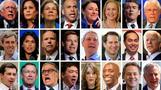 米大統領選に向けた民主党の初討論会、意外な候補が外れる波乱も(字幕・14日)