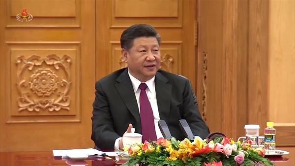 中国の習主席が訪朝へ、中国指導者として14年ぶり(字幕・20日)