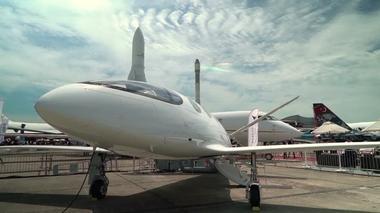 イスラエル企業が「電気飛行機」公開 2022年にも就航(字幕・19日)