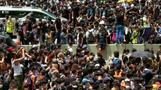 香港で再び数千人がデモ、撤回要求応じない政府に怒り爆発(字幕・21日)