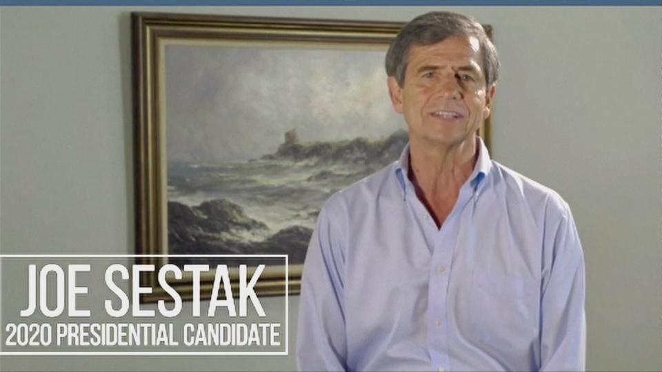 Former congressman Sestak joins 2020 Dems