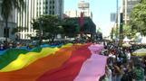 Hunderttausende demonstrieren für Vielfalt in Sao Paulo
