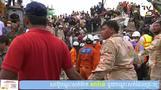 カンボジアでビル倒壊、死者18人 中国の投資で建設ブーム(字幕・23日)