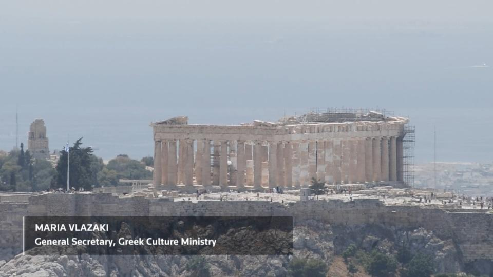 Climate change taking its toll on Greek monuments