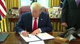 米がイラン追加制裁、最高指導者ハメネイ師ら対象に(字幕・25日)