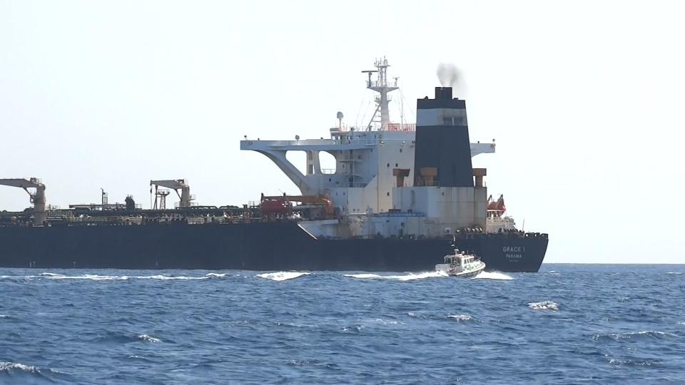 Tanker seizure stirs Iran's tensions with the West