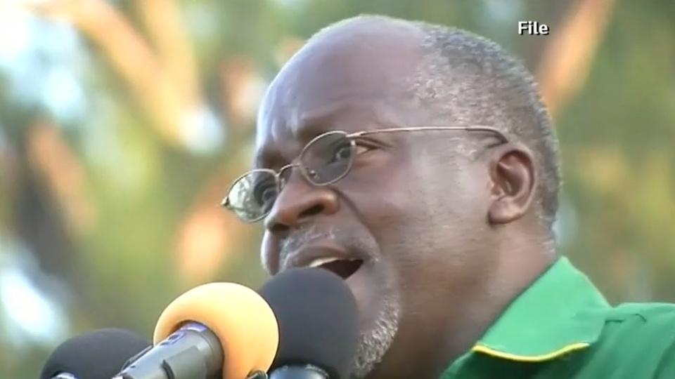 Tanzanians react as president tells women to 'set ovaries free'