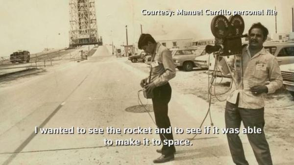 Like 'science fiction': Mexican journalist remembers Apollo 11