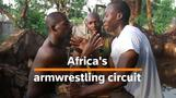 Africa's growing body of competitive armwrestlers