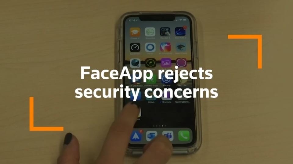 Russia's FaceApp dismisses U.S. senator security concerns
