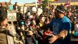 ハワイ島 望遠鏡建設に抗議デモ 日本も参加(字幕・19日)