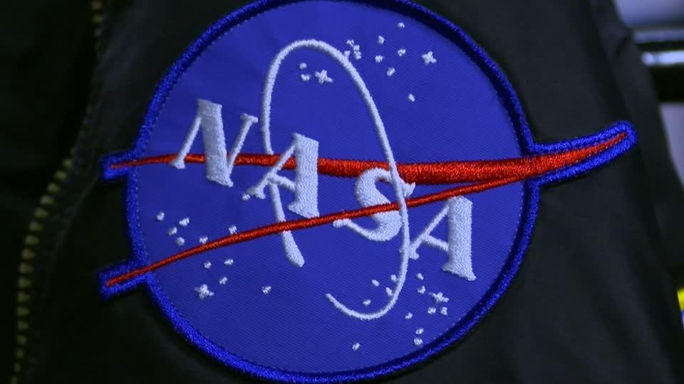 NASA's logo is everywhere, cool and free to use