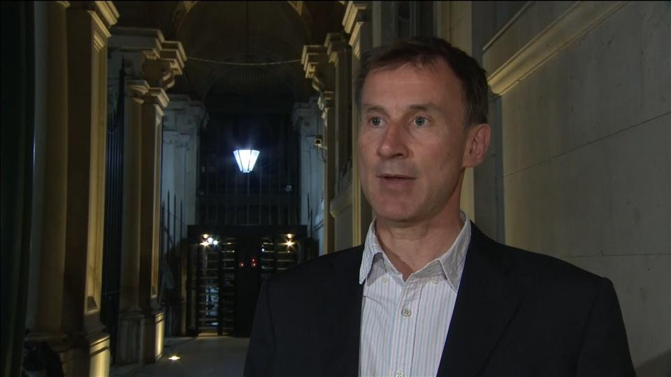 Britain will be considered but robust towards Iran - Hunt