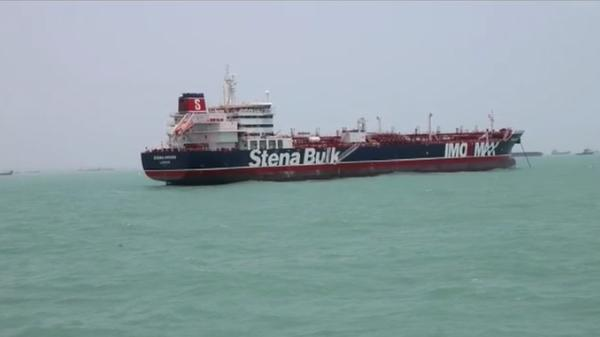 """Iran says it seized tanker after collision, UK calls it a """"hostile act"""""""