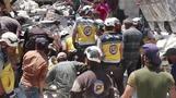 رجال إنقاذ: 20 قتيلا في ضربات جوية بمدينة تحت سيطرة المعارضة السورية