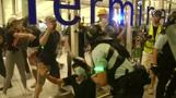 Hong Kong airport reopens after night of clashes