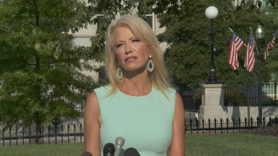 Sesame Street word of day is recession: Conway