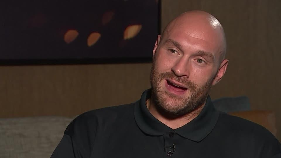 "Tyson Fury ""back from hell"" now helping others fight their demons"