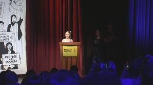 Teen activist Thunberg receives Conscience Award
