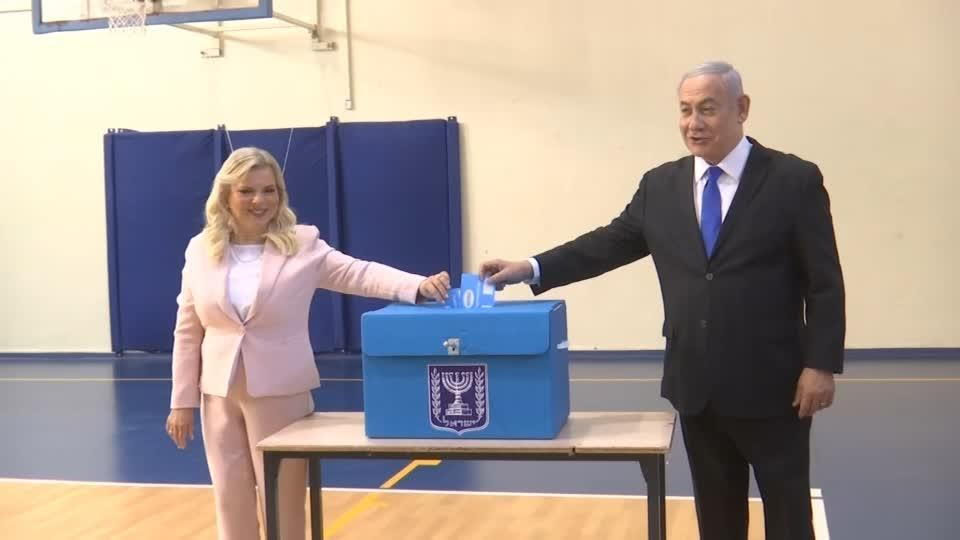 Netanyahu votes in election that could end his domination of national...