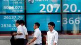 Shares flat, oil sheds gains after price shock