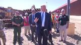 Trump shows off border wall in San Diego