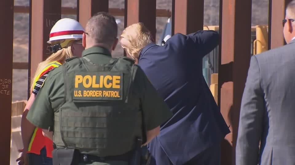 Trump signs his border wall
