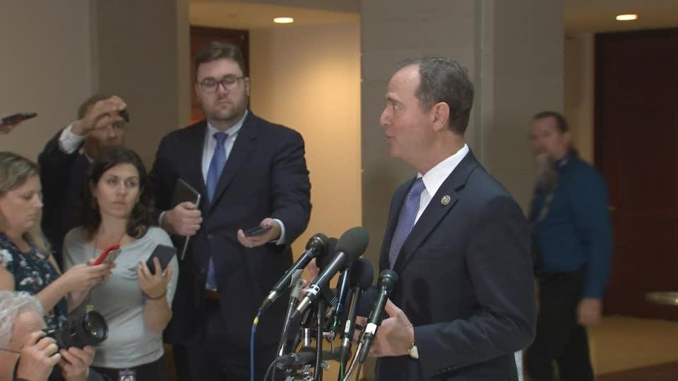DOJ involved in decision to block whistleblower complaint: Schiff