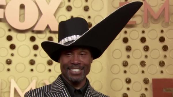 Stars hit the purple carpet ahead of Emmys