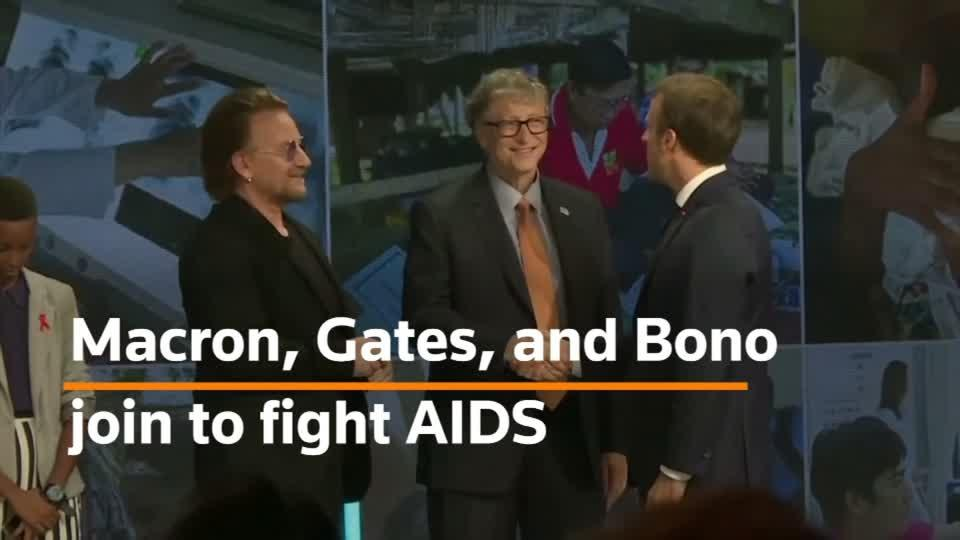 International donors pledge $14 bln to fight AIDS
