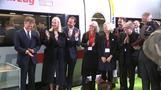 Mette-Marit und der Sonderzug nach Frankfurt