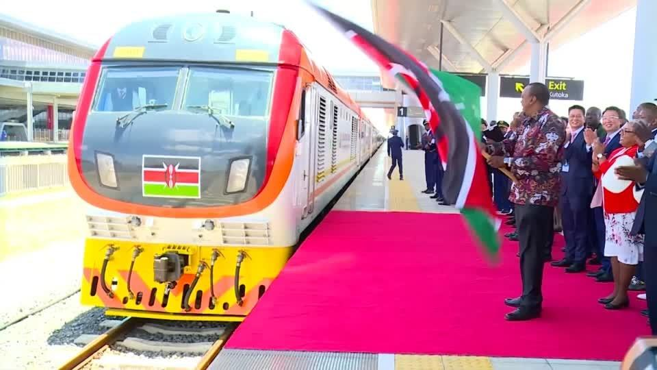 Kenya opens $1.5 bln Chinese-built railway linking Nairobi and Naivasha