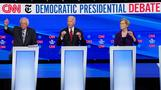 2020 Democrats slam Trump over Syria at debate