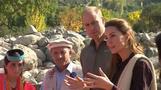 William und Kate staunen über abschmelzenden Gletscher in Pakistan