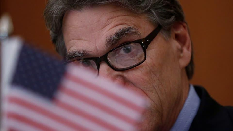 U.S. Energy Secretary Rick Perry to resign