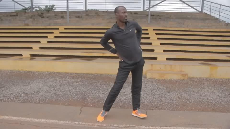 Banned Cameroonian athlete runs against anti-gay laws