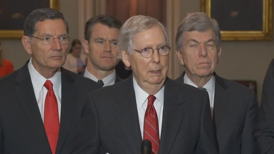 McConnell: 'Inconceivable' Senate will have votes to remove Trump