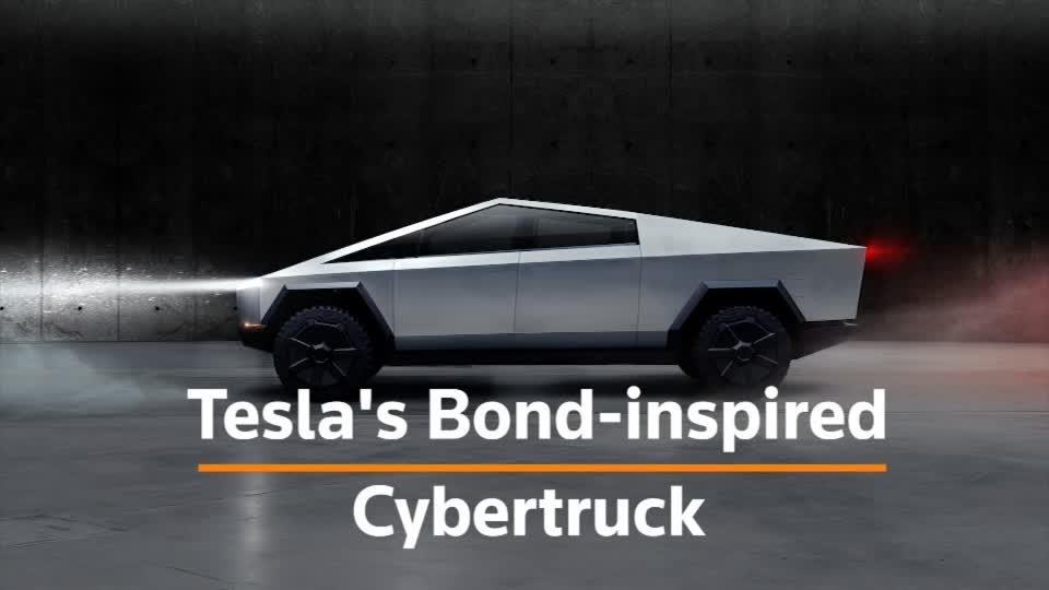 Tesla's unveils its electric 'Cybertruck'