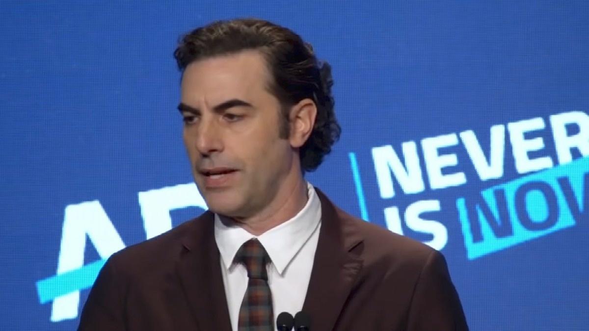 Sacha Baron Cohen chastises big tech for spreading lies