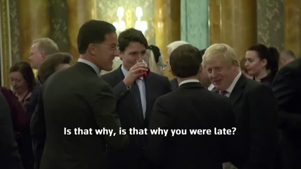 NATO leaders' conversation overheard at Palace reception