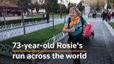 Run Rosie Run! 73-year-old woman's charity run across the world