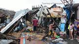 台風28号がフィリピンに残した爪痕、避難所にはまだ数万人(字幕・4日)